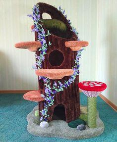 Crazy Cat Lady, Crazy Cats, Cat Ideas, Cat Castle, Cat Tree House, Kitty House, Diy Cat Tree, Cat Towers, Animal Room