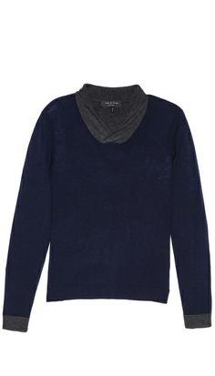 Rag & Bone Elliot Wrap Neck Sweater