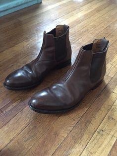 Churchs × Jil Sander Chelsea Boots Size 42 Size 9 $200 - Grailed
