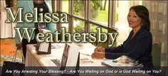 """Melissa Weathersby is author of the book """"Are You Arresting Your Blessing: Are You Waiting on God or is God Waiting on You?"""" In her book, Melissa challenges the reader to review and reflect on what is holding back your blessing."""