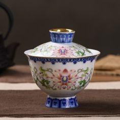 Foshan Qing Dynasty Style Mudan Flower Gaiwan * 150ml