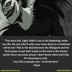 Death Note Quotes