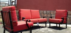 Jalisco Love Seat and Club Chairs