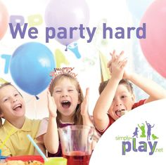 Book your child's birthday party at Simply Play today!
