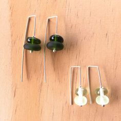 Colour Play – Earrings #2 – Julie Frahm – Glass Jewellery
