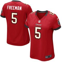 Josh Freeman Tampa Bay Buccaneers Historic Logo Nike Girls Youth Game Jersey