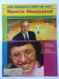 Sports Illustrated Magazine Dec 25 1972 John Wooden Billie Jean King Vol 37 No26  | eBay