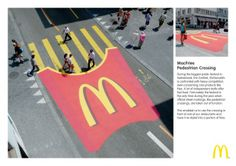 McDonald's: MacFries Pedestrian Crossing