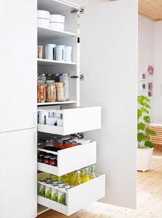 """Einrichtungsbeispiele zur Ikea-Küche """"Metod"""""""