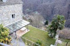 Calezzo: Luxuriöses 6.5 Zimmer-Rustico ruhige und sonnige Aussichtslage mit Bauland Duplex House, Villas, Real Estates, Switzerland