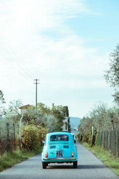 Vintage Fiat 500. www.tuscaniaevents.com