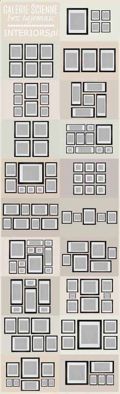 Ideas for photo frame and canvas print layout on our main living room wall
