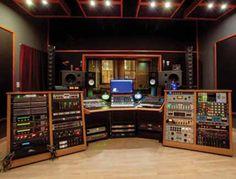 Hideaway Studio's control room