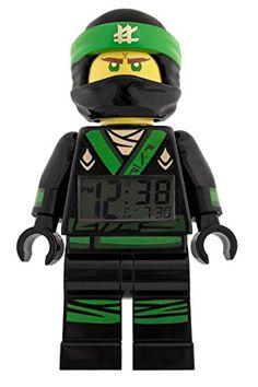 Lego Ninjago Lloyd, Lego Ninjago Movie, Leather Chesterfield, Super Secret, Digital Alarm Clock, Alarm Clocks, Gifts For Kids, Mini, Movies