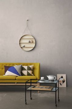 ferm LIVING design for the living room. Shop design for your living room online. Danish design furniture and interior - We offer low cost shipping! Dorm Shelves, Shelving, Style Deco, Living Spaces, Living Room, Decoration Design, Interior Design Inspiration, Home And Living, City Living
