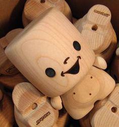 ^^  Maple Marshall wooden Art Toy