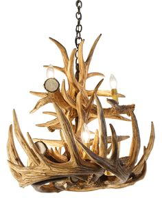 Whitetail Deer 12 Large Antler Chandelier is a NEW addition that adds the perfect touch of rustic to any home or cabin. Currently on SALE!