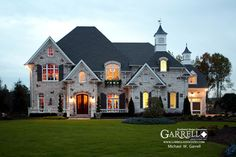 Chateau Le Mont | House Plans by Garrell Associates, Inc.  Love the way this house looks...great plan too!