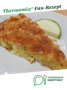 Kartoffel-Zucchini-Kuchen Potato and zucchini cake from AlexGi. A Thermomix ® recipe from the Baking category www.de, the Thermomix® Community. No Dairy Recipes, Baby Food Recipes, Vegan Recipes, How To Make Dough, Food To Make, Fermented Bread, Zucchini Cake, Vegan Breakfast Recipes, Grilling Recipes