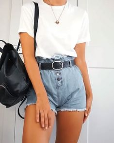 20+ Most Trending Summer Outfits Ideas For Women Fashion Blog in 2020 Summer trends outfits Cute simple outfits Summer outfits casual simple