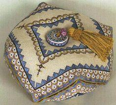 D7 Vario Biscornu - Cross Stitch Pattern.123 stitch