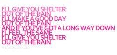 shelterrrr! best songg!! #Hedley