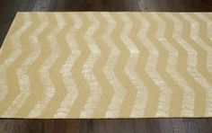 $5 Off when you share! Rugs USA Maui NT18 Chevron Jute Natural Rug- for my dining room