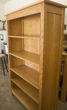 Cherry Bookcase Reader S Gallery Fine Woodworking