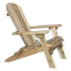 Montana Woodworks Adirondack Chair - Adirondack Chairs at Hayneedle