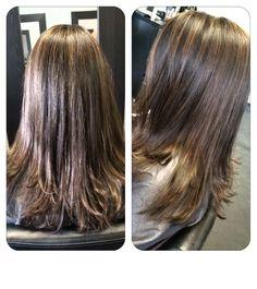 #longlayers #naturalhighlights #hairbymalena