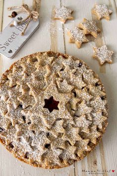 Crostata vegan con marmellata di lamponi - Mammachechef Vegan Treats, Biscotti, Food Styling, Sweet Recipes, Food And Drink, Gluten Free, Sweets, Cooking, Roots