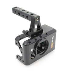 The CagePro Lets you Add a Canon DSLR Battery to Your GoPro Action Cam