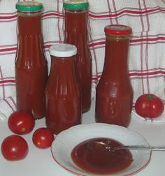 Ketchup, Hot Sauce Bottles, Salsa, Homemade, Cooking, Food, Dachshund, Kitchen, Home Made
