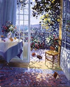 artemesia-violette: Laurent Parcelier - a modern french artist from the Dordogne region of France