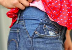 How To Let Out Pants [Tutorial] :Keep wearing your favorite jeans. If you've ever struggled to button a pair of pants be sure to check out the Letting Out Pants tutorial. Sewing Tutorials, Sewing Hacks, Sewing Crafts, Sewing Projects, Sewing Patterns, Sewing Tips, Sewing Designs, Upcycling Projects, Free Sewing