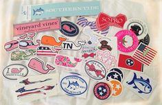 probably doesn't go with fashion ,but fashion is where all my preppy things are Preppy Southern, Southern Prep, Southern Tide, Southern Charm, Preppy Stickers, Prep Life, Laptop Stickers, Yeti Cooler Stickers, Brand Stickers