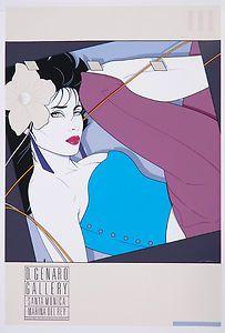 Patrick Nagel, My Own Way, Commemorative NC9, 1986, Serigraph Poster.
