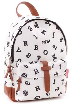 Kidzroom Ryggsäck Black & White, Number Boys Backpacks, Kids Bags, Toddler Boys, Avon, Fashion Backpack, Charcoal, Black And White, Polyester, Dimensions