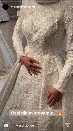 wedding dream – About Wedding Dresses Hijabi Wedding, Hijab Wedding Dresses, Dream Wedding Dresses, Bridal Dresses, Wedding Gowns, Hijab Dress, Hijab Outfit, Wedding Dress Silhouette, Bridal Hijab