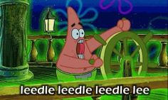 "I dare ever one to watch the ""the 10 hours of leedle leedle leedle lee"" on you tube (at least 20 mins"""