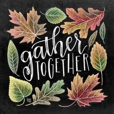 ♥ Gather Together ♥ ♥ L I S T I N G ♥ Each image is originally hand drawn with chalk