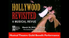 and antics of Hollywood Revisited! Musical Theatre Guild will present this benefit performance on Monday, Ma. Musical Theatre, Corporate Events, Musicals, Hollywood, Costume, Songs, Movie Posters, Corporate Events Decor, Film Poster
