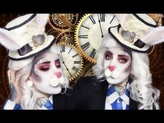 Steampunk white rabbit | Alice in wonderland - YouTube