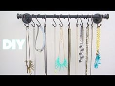 DIY Room Decor: Jewelry Organizer/ Jewelry