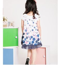 Aliexpress.com : Buy Dress Only! Free Shipping Kids Clothing Girls Summer Dresses Cute Knot Bubles Design K0466 from Reliable Girls Summer Dresses suppliers on SICIBAY - Kids' Clothing:Selling for Donating