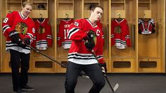 In ESPN The Magazine's Interview Issue, Chicago Blackhawks cornerstones Patrick Kane and Jonathan Toews face off.