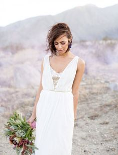 Stunning Edgy Bohemian Wedding Inspirational Shoot