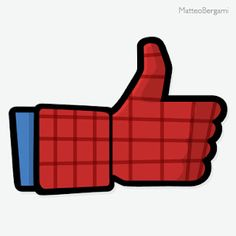 Spiderman Thumbs Up! Michael Jackson, Mickey Mouse, Like Icon, Fb Like, Facebook Likes, Amazing Spiderman, Geek Art, Great Pictures, Art Director