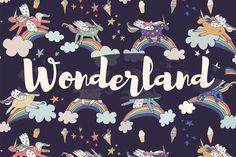 Wonderland by GooseFrol on Creative Market