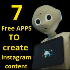 Free aaps to create content , digital marketing , content marketing Instagram Tips, Follow Me On Instagram, Content Marketing, Digital Marketing, Free Apps, Knowledge, Create, Inbound Marketing, Facts